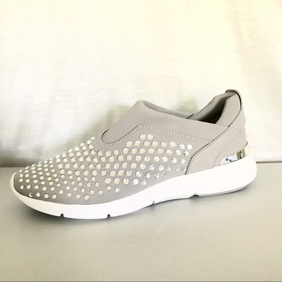 bbd2f673c8d8 MICHAEL KORS Ace Trainer Rhinestone Sneakers